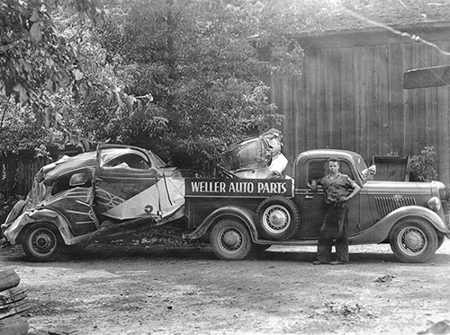 Grand Rapids Auto Parts >> Our History Weller Salvage